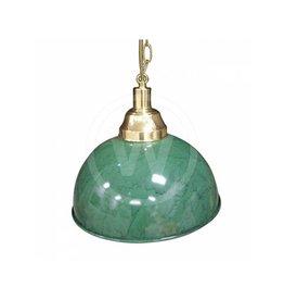 Lamp rond klassiek 33 cm groen marmer