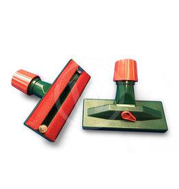 Borstel / hulpstuk voor stofzuiger (rood/groen)