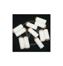 Schuifpomerans wit economy (12 mm) - 10 stuks
