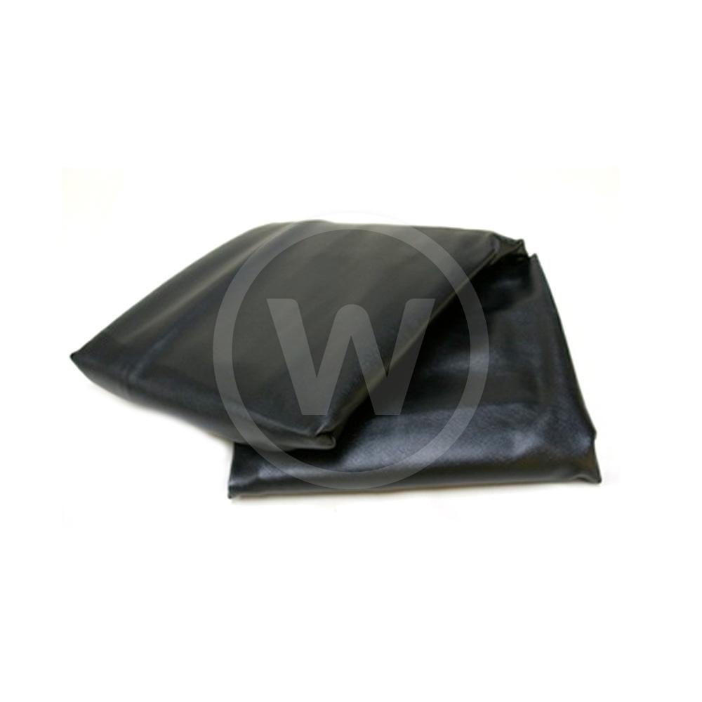 Poolzeil - zwart dik gevoerd (235 x 132 x 20cm)