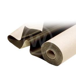 Afdekzeil - 290x170 cm, poly rug (Zwart)