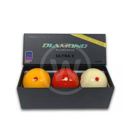 Diamond Billiard Balls Diamond Ultra-C Dynamic (61,5mm)