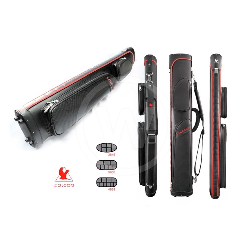 Falcon Falcon cue case black/red (4B/6S)