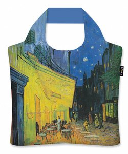 "Ecoshopper  ""Cafe Terrace at Night"" - Vincent van Gogh"