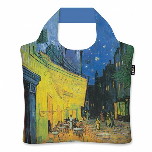 "Ecozz Ecoshopper  ""Cafe Terrace at Night"" - Vincent van Gogh"