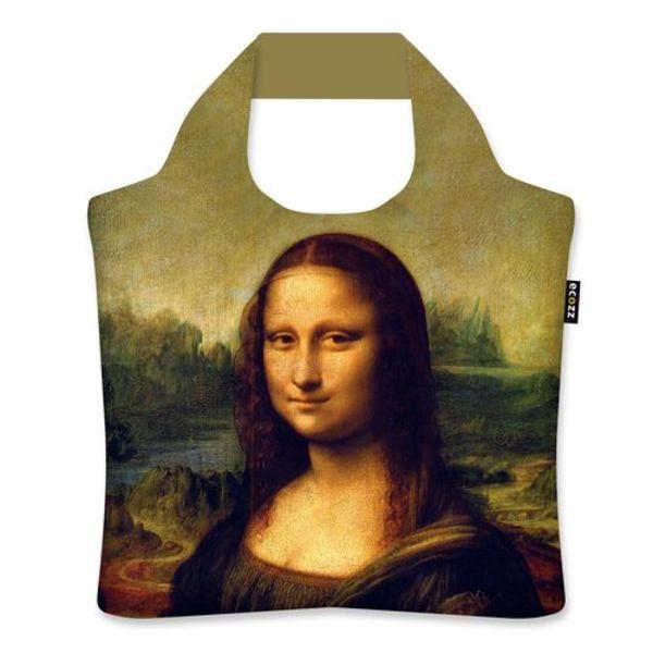 """Ecoshopper """"Irises"""" """"Mona Lisa"""" - Leonardo da Vinci"""