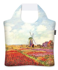 "Ecoshopper ""Tulip Fields in Holland"" - Claude Monet"