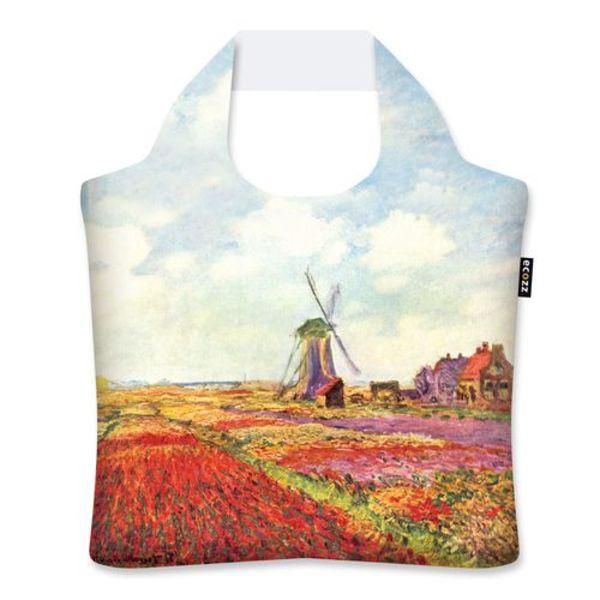 "Ecoshopper ""Tulip Fields in Holland"" - Claude Monet"