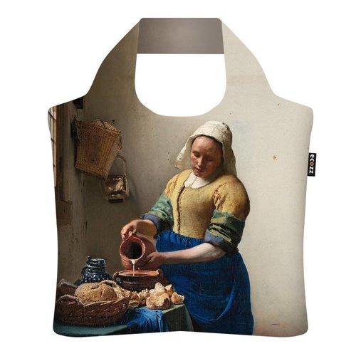 """Ecozz Ecoshopper """"The Milkmaid"""" - Johannes Vermeer"""
