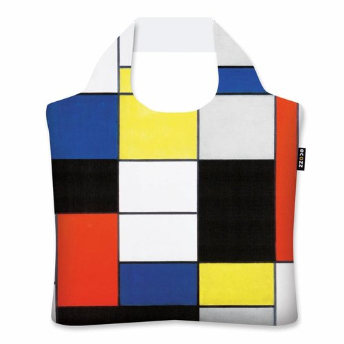 "Ecozz Ecoshopper ""Composition A"" - Piet Mondriaan"