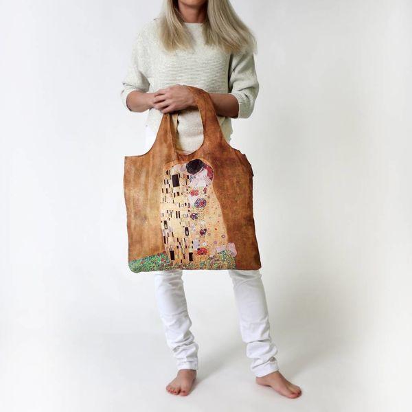 "Ecoshopper ""The Kiss"" - Gustav Klimt"