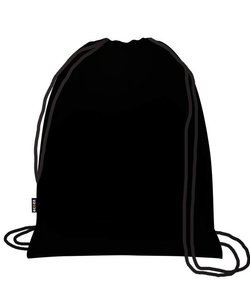 Foldable Eco Backpack Black Label