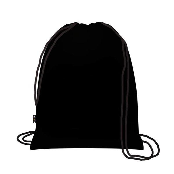 Foldable Eco Backpack Black Label