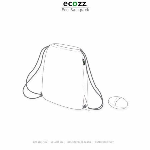 Ecozz Eco Opvouwbare rugzak Retro Anchors
