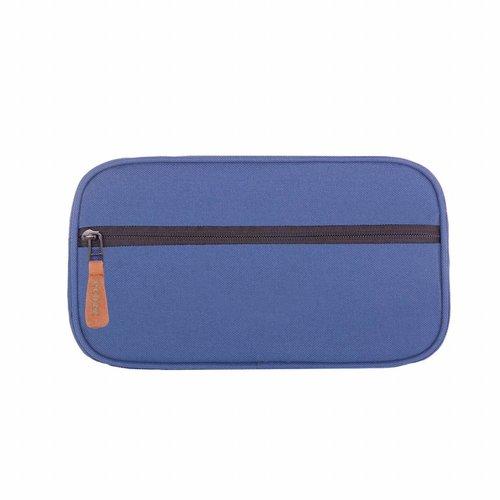 Ecozz Ecozz Cosmetic Case Navy Blue
