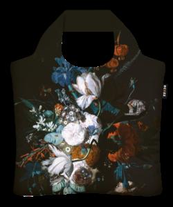 """Ecoshopper """"Vase With Flowers """" - Jan van Huijsum"""