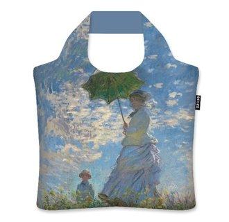 """Woman with Parasol"" - Claude Monet"