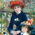 "Ecozz ""Two Sisters"" - Pierre Auguste Renoir"