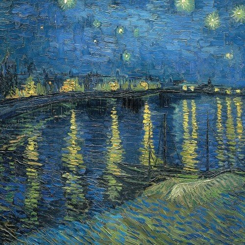 "Ecozz ""Starry Night Over The Rhone"" - Vincent van Gogh"