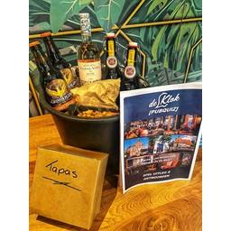 Grand Café de Klok Patisserie Borrel & Bites Bucket met QUIZ voor 4 personen