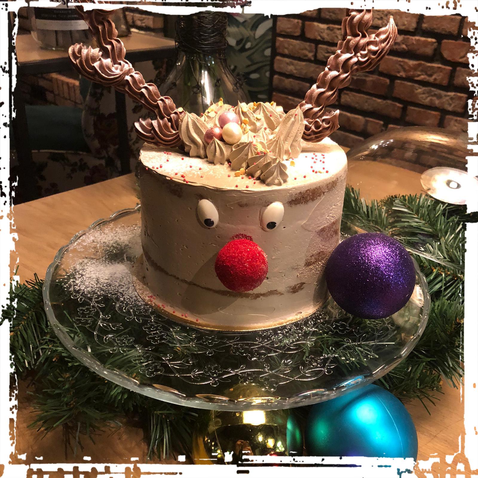 Rudolph taart 4 tot 6 personen
