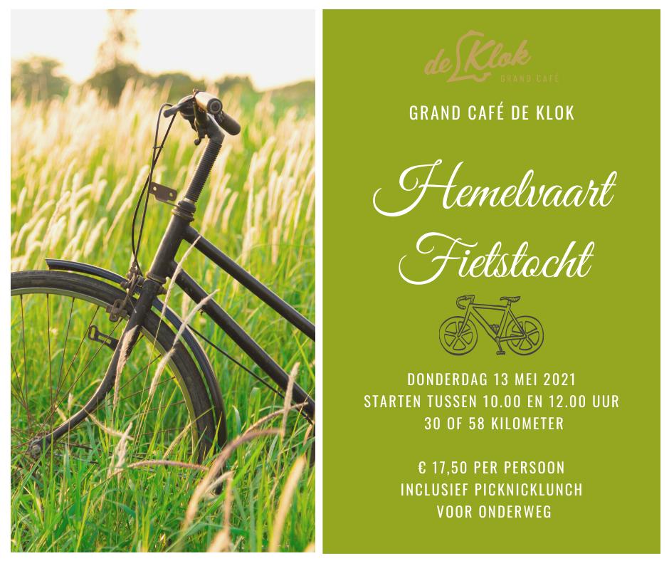Grand Café de Klok Patisserie Hemelvaart Fietstocht