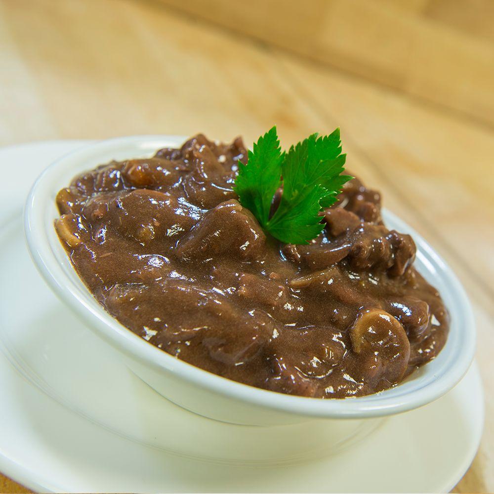 Runderstoof 1000 gram vlees (drie tot vier personen)