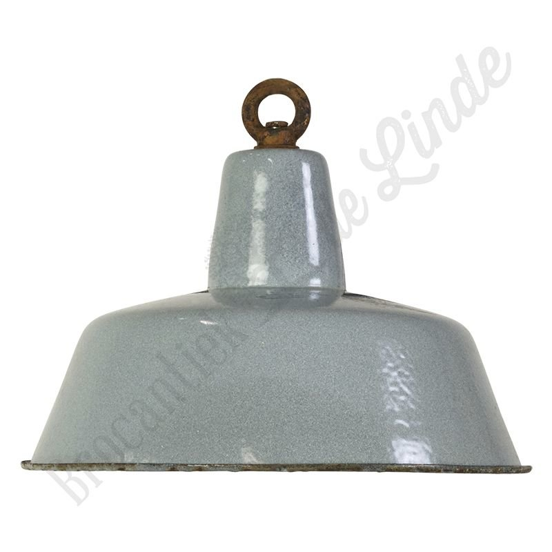 "Industriële Bauhaus lamp ""Grey"""