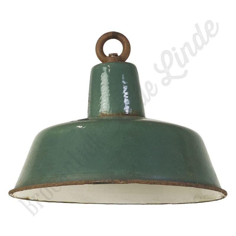 "Vintage Bauhaus lamp ""Ocean"" - medium fabriekslamp"