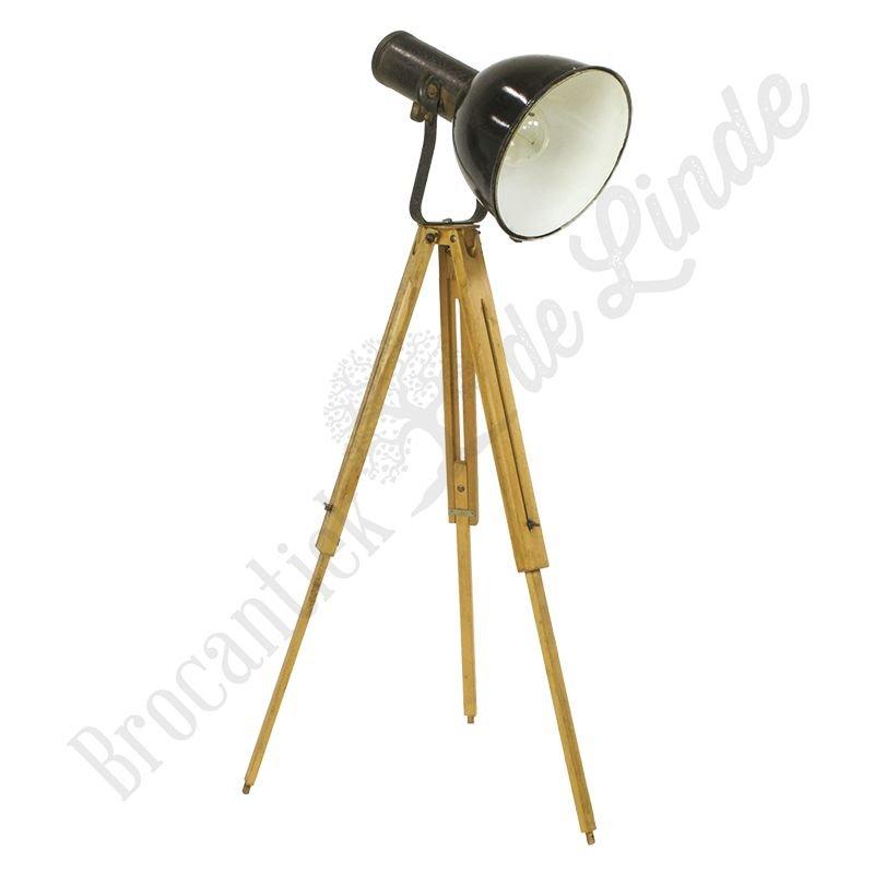 """Industriële statieflamp """"Bauhaus Longneck"""""""