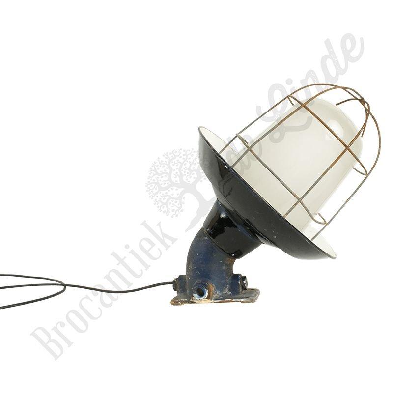 "Vintage kooilamp ""Petrovice"" - wandmodel gietijzer"