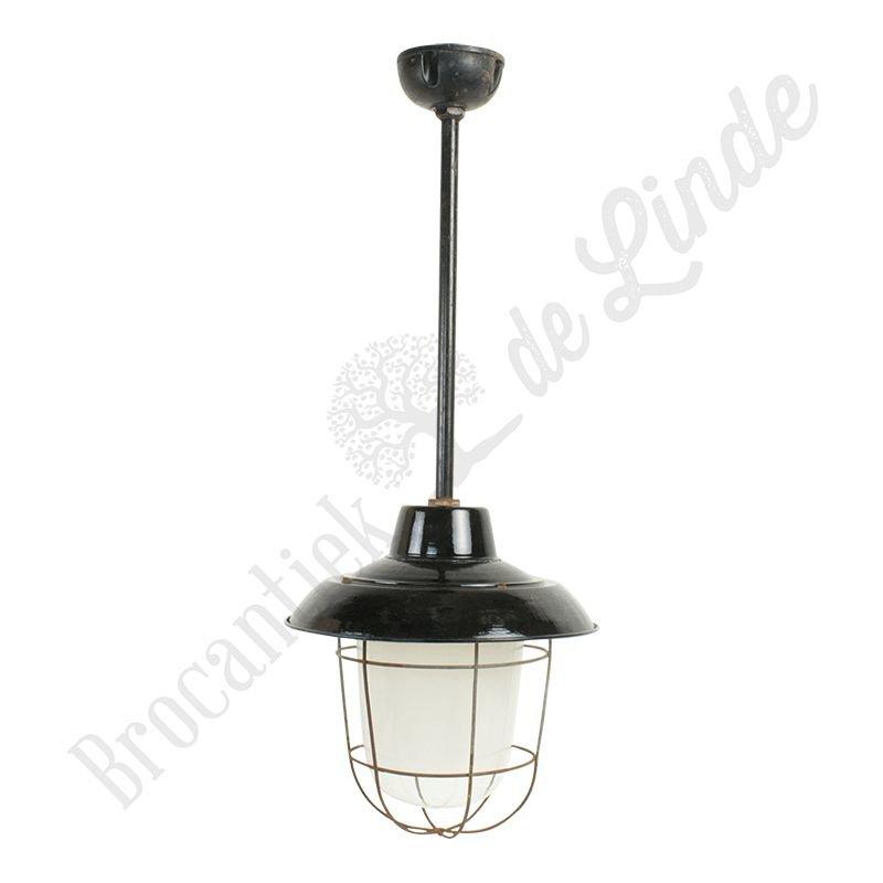 "Industriële hanglamp op staaf ""Petrovice Extended"""
