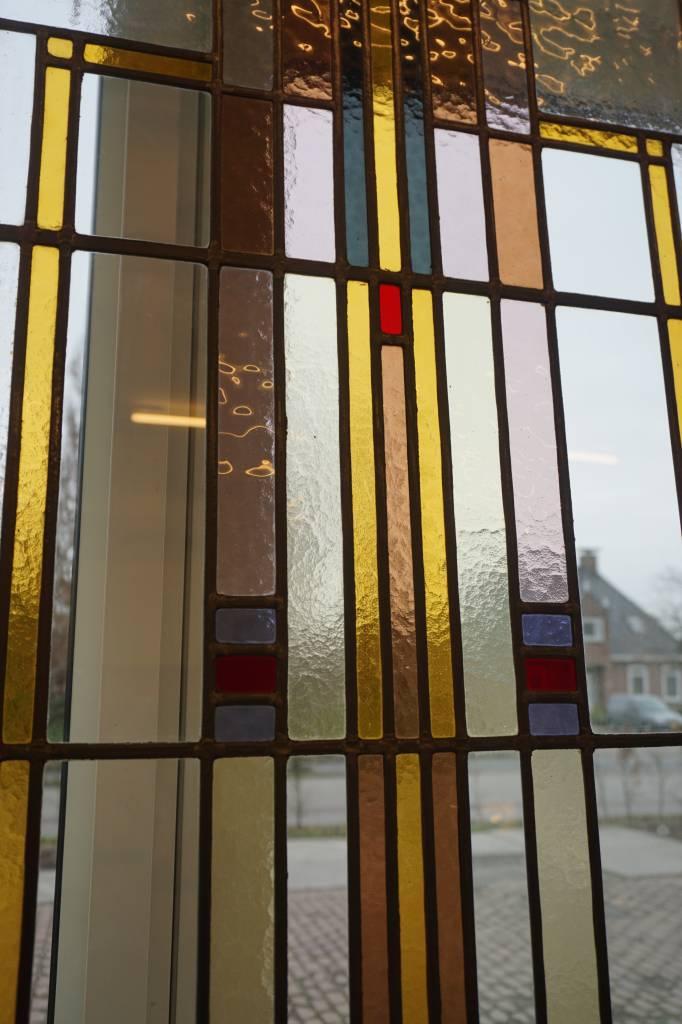 Verbazingwekkend Jaren 20 en suite deuren met glas in lood   Brocantiek de Linde ZM-65