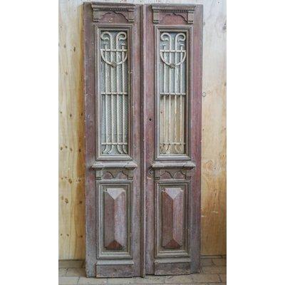 Antieke set deuren