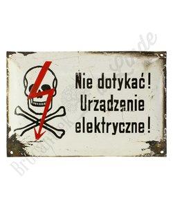 Poolse waarschuwingsbordjes No. 2