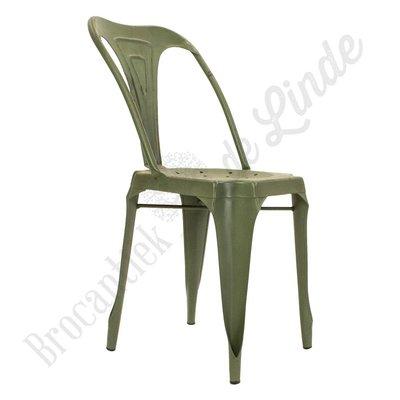"Metalen stoel ""Green Snake"""