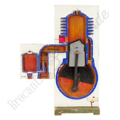 2takt verbrandingsmotor
