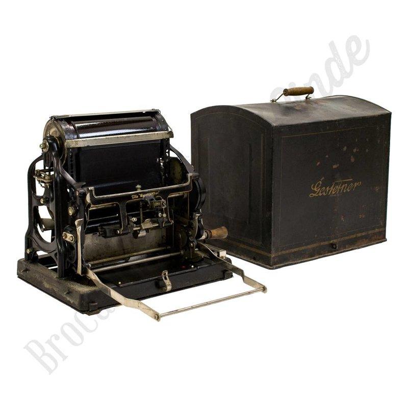 Antieke drukpers ''The Gestetner''