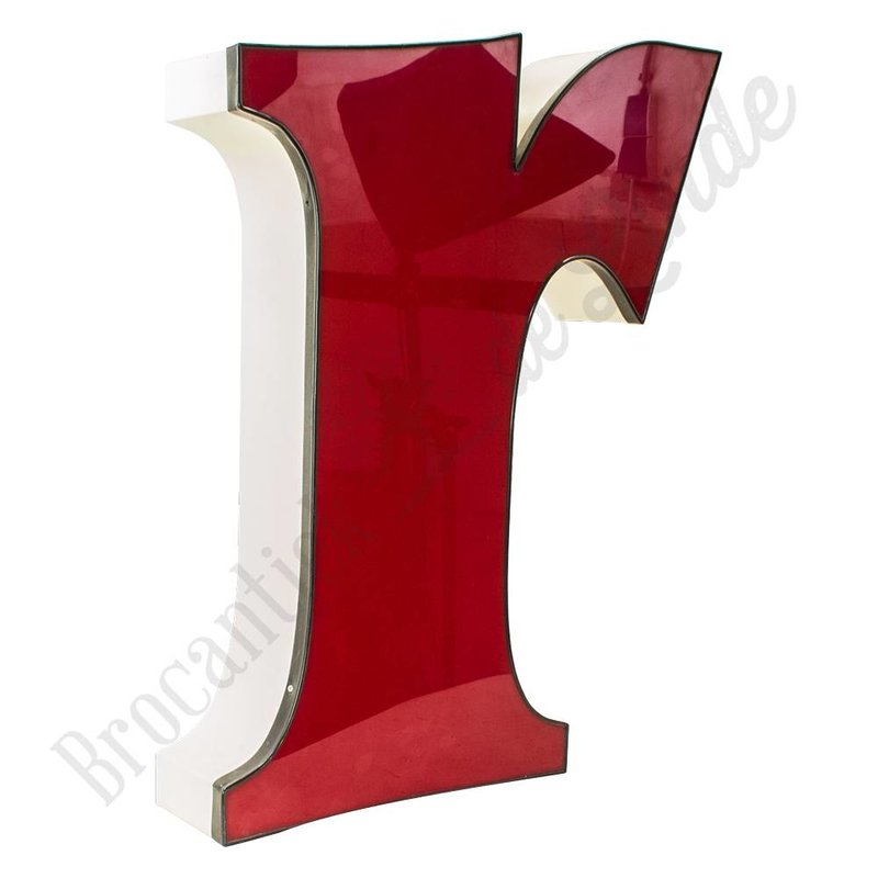 Kleine rode letter R