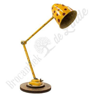 Monteurslamp ''Yellow Python''