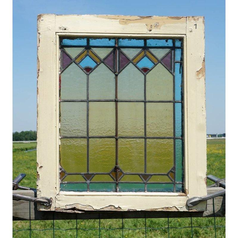 Glas in lood raam No. 1