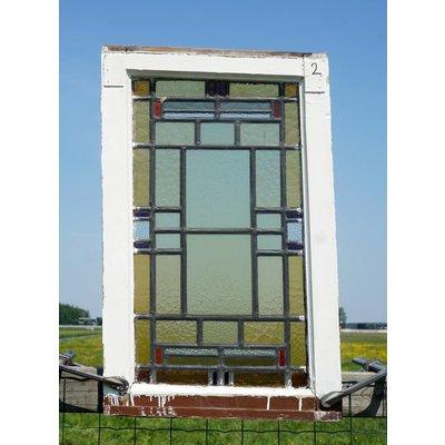 Glas in lood raam No. 2