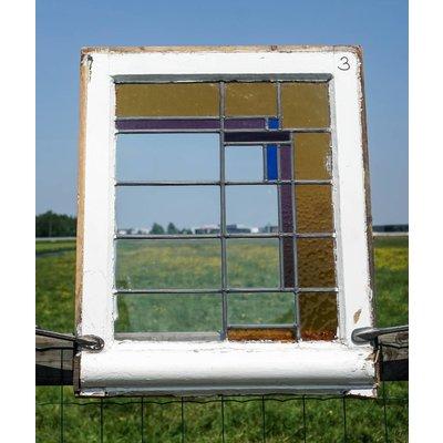 Glas in lood raam No. 3