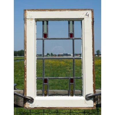 Glas in lood raam No. 4