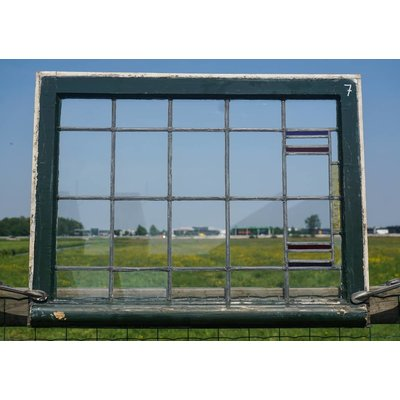 Glas in lood raam No. 7