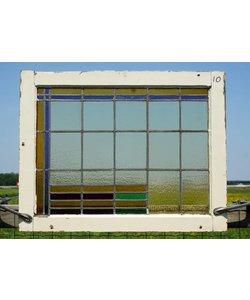 64 x 82 cm - Glas in lood raam No. 10