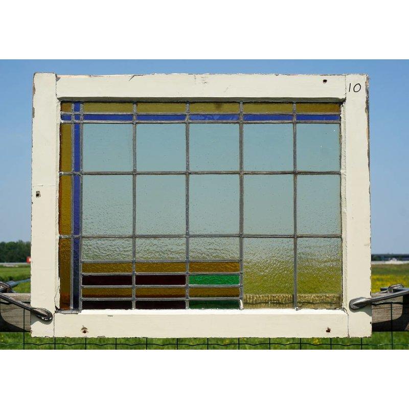 Glas in lood raam No. 10