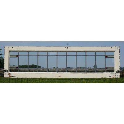 38,5 x 143,5 cm - Glas in lood raam No. 11