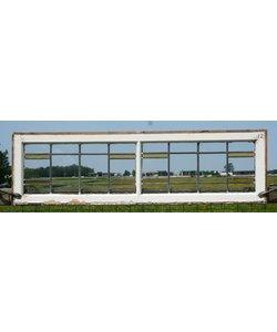 40,5 x 140 cm - Glas in lood raam No. 12