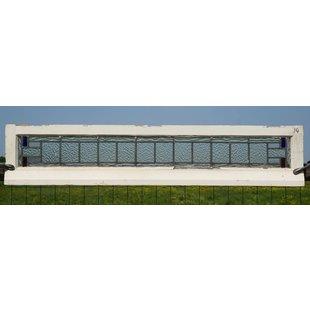 30 x 152,5 cm - Glas in lood raam No. 14